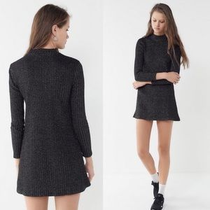 Urban Outfitters Mock Neck Sweater Dress XS NEW